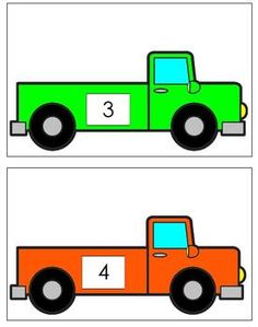 Load the trucks - use with blocks