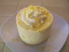 Eggface Protein Ice Cream Recipes: Lemon Meringue Protein Ice Cream Cake - Sugar Free Low Carb Protein Packed - It's National Ice Cream Pie Day (this is sort of both) Ice Cream Candy, Ice Cream Pies, Cream Cake, Lemon Desserts, Low Carb Desserts, Just Desserts, Low Carb Protein, High Protein Recipes, Healthy Recipes
