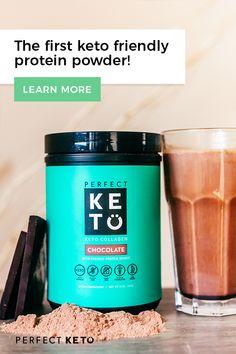 Perfect Keto's delicious chocolate collagen.