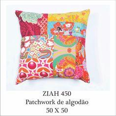 almofada patchwork contemporâneo by #anamorellicolorhomedesign  www.anamorelli.com.br