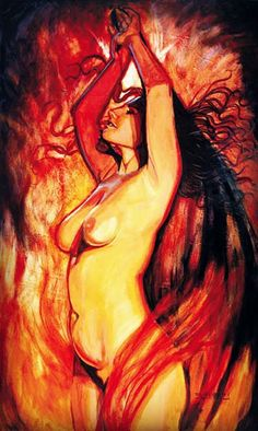 ☾The Goddess Lilith refused submission, subordination, subjugation. In all forms. She insisted on her Queendom. Lilith is the Goddess of women who are lusty, bawdy, shameless, and brave- devoted to her truth, her pleasure, her equality, her freedom, and her power. She is passionate empowerment. ☾-text by Nuit Moore art: 'Lilith' by anonevyl click for full Facebook post #lilith #goddess #sacredsexuality
