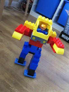 Discover Lego Duplo Ideas for Transformer Hama Beads Minecraft, Perler Beads, Lego Activities, Toddler Activities, Lego Disney, Legos, Lego Challenge, Lego Pictures, Lego Robot