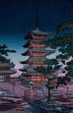 """mydarkenedeyes: """" Tsuchiya Koitsu (1870‒1949) """""""
