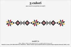 Find Beading Inspiration With Cross Stitch Patterns! Bracelet Patterns, Beading Patterns, Knitting Patterns, French Knot Embroidery, Folk Embroidery, Mexican Pattern, Romania, Cross Stitch Patterns, Album