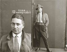 Mug shot of Guiseppe Fiori, alias Permontto, 5 August 1924. Location unknown.   Creator:	New South Wales. Police Dept.
