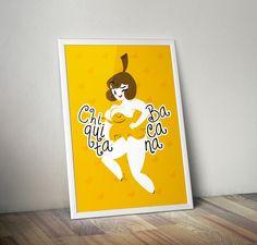Pôster Chiquita Bacana - Download Grátis - Homens da Casa