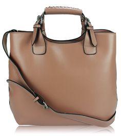 Nude Ladies Fashion Tote Handbag, £24.99