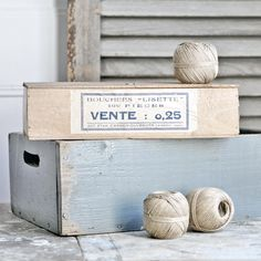 an early to mid-1900s wooden French box originally held chocolates