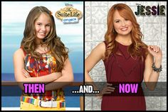 ~Debby Ryan, then and now <<< Still playing a fabulous country girl! XD Lol I love Debby Ryan. :)