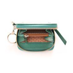 Monedero para dama, línea Degrade en técnica espazolato. Zip Around Wallet, Vestidos, Coin Purses, Lady, Leather, Accessories