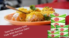 Taste yummy dahi vada with amrit doi at http://goo.gl/IKQJ6k