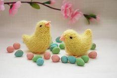 Free Spring Chick Knitting Pattern