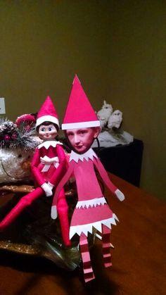 Jingles elfed Delaney.