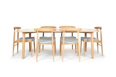 The Quest Dining Table by Studio Pip is a superb piece of solid timber design. Designed and made in Australia using solid American Oak, the Quest has a slight retro appeal but is versatile enough to suit any decor. Timber Dining Table, Furniture, Design, Home Decor, Decoration Home, Wooden Dining Table Designs, Room Decor, Home Furnishings