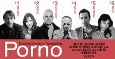 Irvine Welsh's Porno fan movie posters