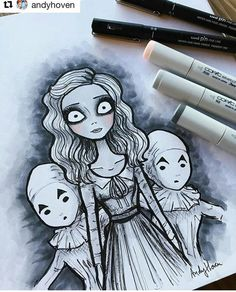 Miss Peregrines Home for Peculiar Children Tim Burton Art style