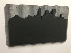 San Francisco Skyline Blackboard by ProvenanceSonoma on Etsy