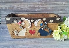 Bags, Etsy, Handmade Pottery, Animal Themes, Great Gifts, Pet Dogs, Plants, Handarbeit, Animales