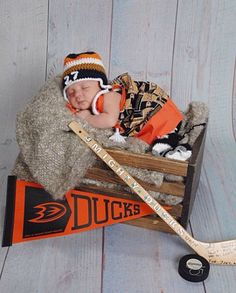 factory authentic ed334 f4d15 13 Best Anaheim Ducks Fan Baby Pictures images in 2018   1 ...