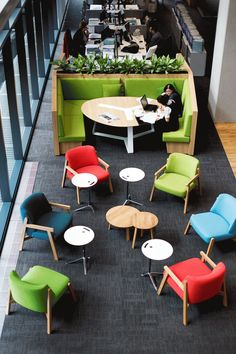 PPB Advisory futurespace  | collaborative spaces | | office | #office #design #moderndesign http://www.ironageoffice.com/