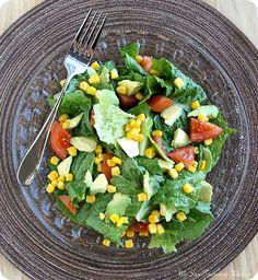 Simple Avocado Salad | My San Francisco Kitchen