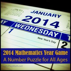 Use the digits in the year 2014 to write mathematical expressions for the counting numbers 1 through 100. The goal is adjustable by age: You...