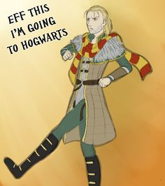 What Anders should have done by Adre-es (I'd say he's more Slytherin than Gryffindor, tbh.)