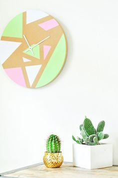 a super cool DIY clock