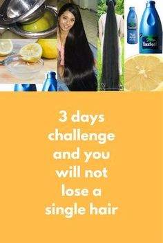 3 days challenge and you will not lose a single hair Today I will share 3 simple remedies that will stop your hair fall and your hair will grow like never before Remedy 1 Take some coconut oil in a bowl Add juice of half lemon into this (Remove seeds you need around 10 drops of lemon juice) Mix it well and our hair growh remed …