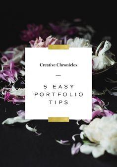 Nubby Twiglet   Creative Chronicles: 5 Tips to Update Your Design Portfolio