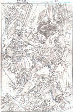 Justice League 30 page 08 - Ivan Reis Comic Art
