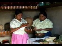 """Traditional Mexican cuisine - ancestral, ongoing community culture, the Michoacán paradigm"" - lot of metates in use."