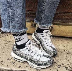 the best attitude 2b617 b9057 Nike Air Max 95 Safari. BlancChaussureFemmeChaussures ...