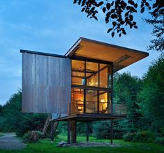 Cabin in Washington State – Fubiz™
