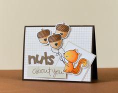 Simple Smiling Cards: Три орешка для белочки)