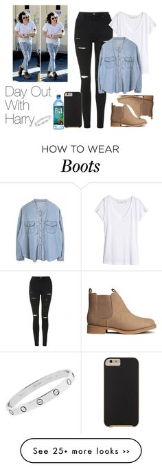 """Day Out With Harry"" by the4dipshits on Polyvore"