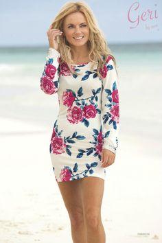 Geri Halliwell...gets more gorgeous as she gets older! love her dress