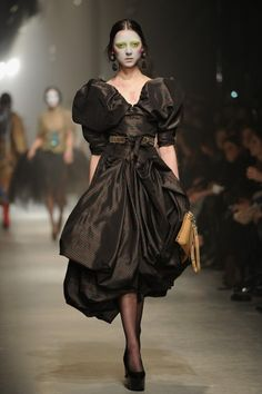 Vivienne Westwood. I find most of her stuff to be Just Too Much, but I love this.