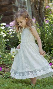 Sweet flower girl dress!