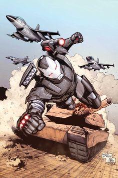War Machine Marvel comics