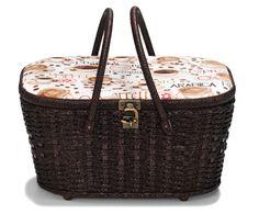 Sewing basket Coffee L | Nähkorb Coffe L