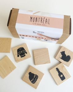 Eco-friendly memory game designed specially for little (and huge) Montreal lovers ! Our wooden games are made with the greatest care, using