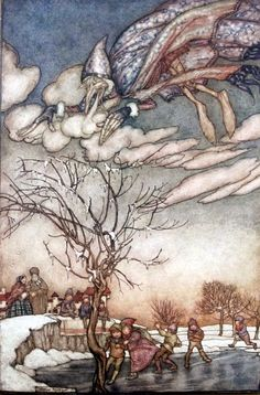 Hypnogoria: FOLKLORE ON FRIDAY - Jack Frost Nipping At Your Nose