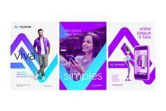 John Dias on Behance Ad Design, Identity Design, Visual Identity, Brand Identity, Corporate Branding, Corporate Design, Graphic Design Posters, Graphic Design Inspiration, Visual Advertising