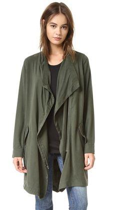 BB Dakota Carthy Drape Front Coat