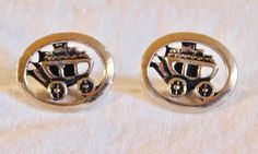 A personal favorite from my Etsy shop https://www.etsy.com/listing/511944322/vintage-cufflinks-stage-coach-cufflinks