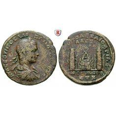 Römische Provinzialprägungen, Kappadokien, Caesarea, Severus Alexander, Bronze Jahr 7 = 228, ss: Severus Alexander 222-235. Bronze… #coins