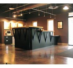 Custom Made Lobby Reception Desk
