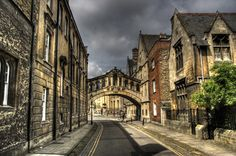 Oxford's very own Bridge of Sighs. It was just down the street from Trinity.