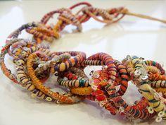 Las joyas de tela de Tanvi Kant | El blog de trapillo.com